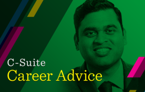 C-suite career advice: Santosh Sahu, On the dot