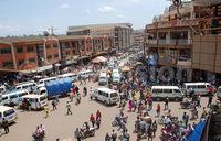 Easter mood in Kampala