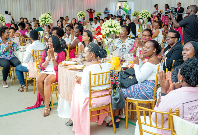 he mothers at the celebrations held last week