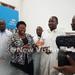 Minister Moriku visits cholera patients at Naguru