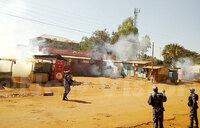 Teargas at Gulu University as students strike