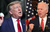 As US protests rage, a tale of two leaders: Biden and Trump