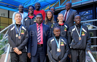 Uganda wins eleven medals at Africa swimming championship