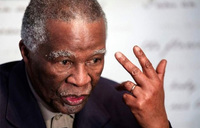 Mbeki slams ANC over S.Africa land redistribution plan