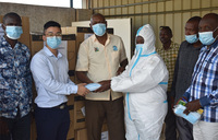 Acacia Foundation donates surgical masks to Kapeeka