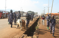 Mbale-Soroti road blocked, Police fire teargas