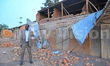 Onec showing some of the destroyed houses in rakai 350x210