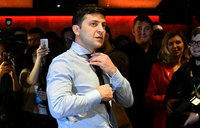 Zelensky: Ukrainian comedian laughing all the way to the ballot box