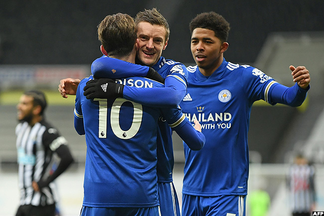 Leicester Move Up To Third Place With Win At Newcastle