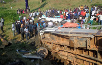 Rukungiri accident leaves four injured