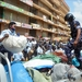 KCCA enforcement team impounds items from vendors