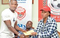 Express FC loaded with Nakiwala cash