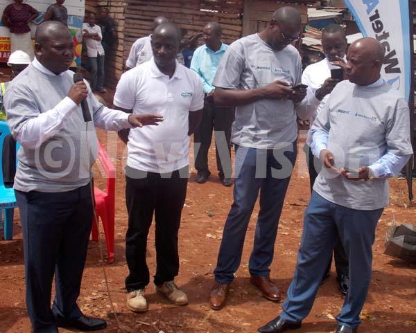 egislators and residents cleaning garbage dump at ikubo village in awempe division hoto by ouglas ubiru