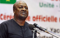 Ghana president urges public to support successor