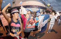 Tens of thousands protest anew in Nicaragua