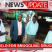 Two held for smuggling drugs