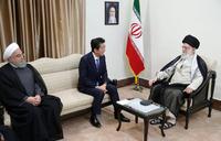 Japan PM meets Iran supreme leader seeking to ease US tensions