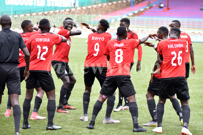 Vipers are now the dominant club in the playe transfer market. File Photo