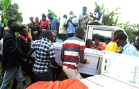 Family grabs suspected COVID-19 body from health officials