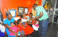 Vision Group rewards youngest triplets