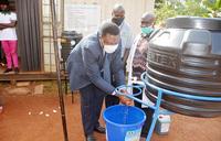 COVID-19:  100 lower health facilities get hand washing facilities