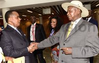 Museveni receives special message from Congo's Nguesso