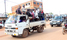 Business paralyzed as taxi drivers continue strike