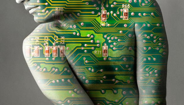 human-microchip