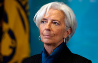 IMF chief 'reassured' after talks with Trump's team