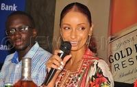 American singer Mya excited about performing in Uganda