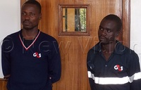 Security guards remanded for failing to foil robbery