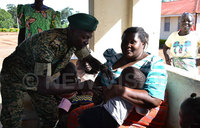 UPDF hailed for supporting immunisation campaign