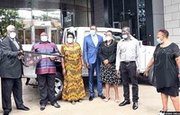 Kwagalana Group donates pick-up in fight against COVID-19
