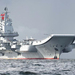 China's aircraft carrier spotted in huge naval drill