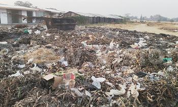 Heaps of garbage at western gate by alexander 350x210