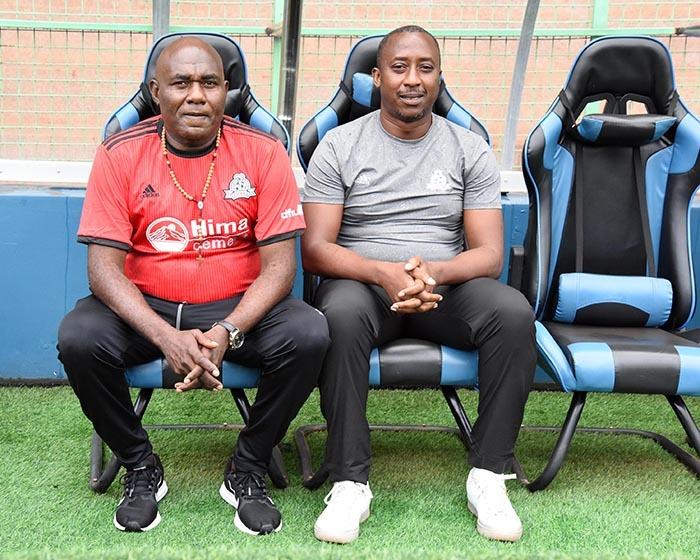 red ajoba and brahim ugisha enjoy the coaching seats icture y palanyi sentongo