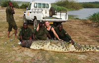 Killer crocodile captured in Kasese