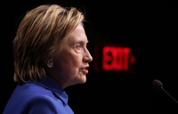 Clinton says election exposed deep divisions in US