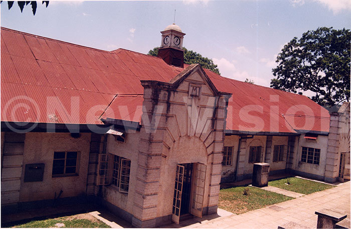 ne of the first administration buildings of akerere niversity built in 1923 arch 14 2000