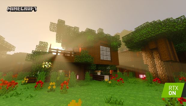 Nvidia releases 5 more free ray-traced Minecraft worlds