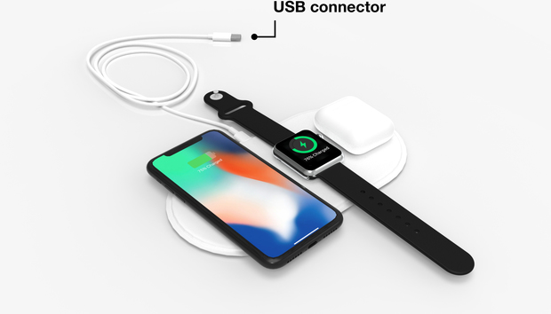 Start-up ships AirPower wireless charger alternative for 'fanboys'