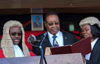 Malawi president names new 'election' cabinet