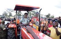 Busoga farmers receive tractors