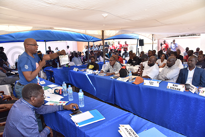 delegates look on during the vote counting hoto by ichard anya