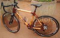 Bamboo-frame bicycles excite Ugandans