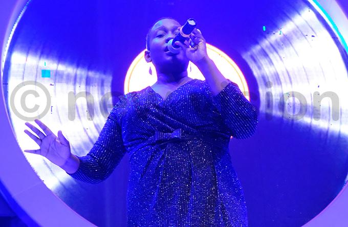 ngela alule performed some of her best hits hoto by ajarah alwadda
