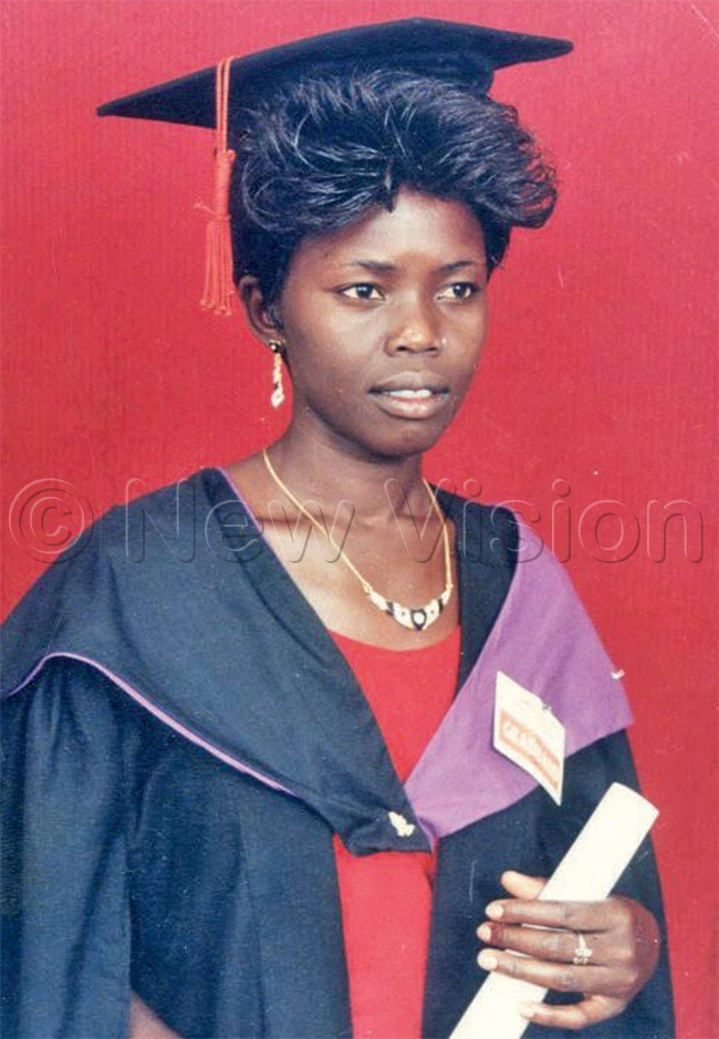 bodo during her graduation