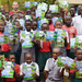 10 schools in South Western Uganda receive books.