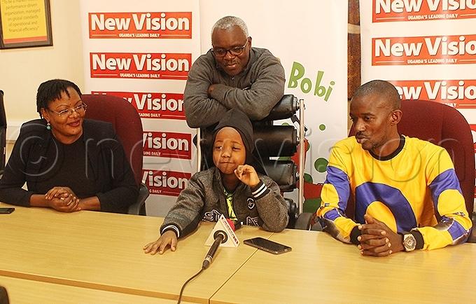 resh id addresses the media ahead of undays festival hoto by atricia uryahebwa