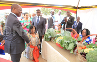 Kabaka inspects Kyanja Agricultural Resource Centre